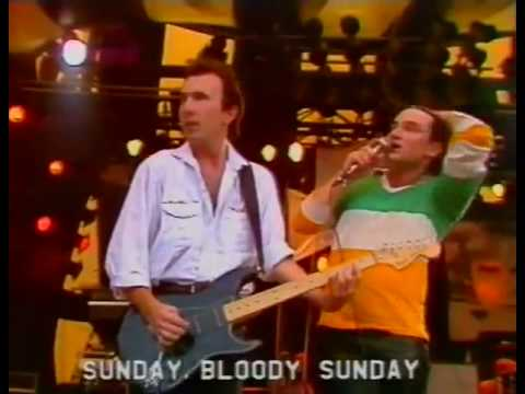 U2 - Sunday Bloody Sunday (Live Rockpalast 1983) HQ