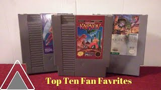 Top Ten Fan Favorite Games for the NES by Second Opinion Games
