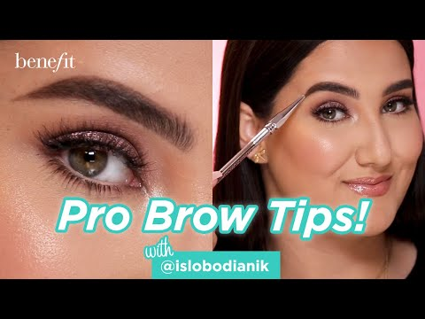 Pro Brow Tips Using Precisely My Brow Pencil | Featuring @islobodianik