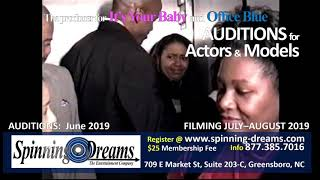 Office Blue Christmas Auditions June 2019