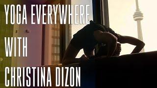 Yoga Everywhere with Christina Dizon! - DerekMeetWorld.com