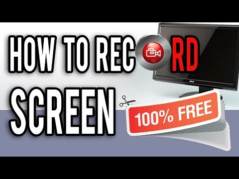 How To Record Your Computer Screen For Free 2017! Windows 7+
