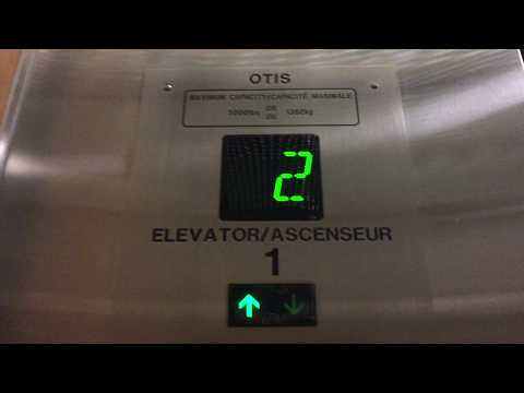 OTIS Series 2 Traction Elevators at Some Office Building Winnipeg MB