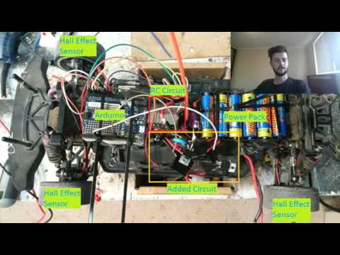 Arduino RC Car Traction Control System