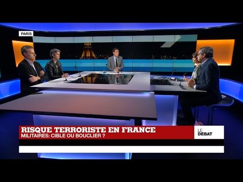 Risque terroriste en France : les militaires, cible ou bouclier ?