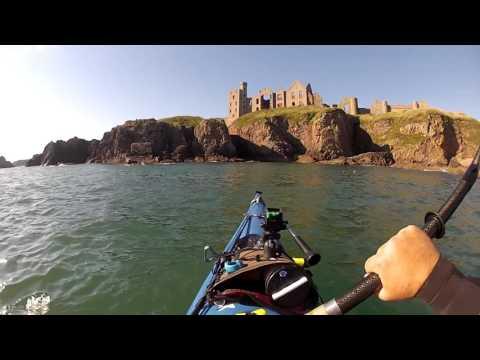 Sea Kayaking the North East Passage - Slains Castle