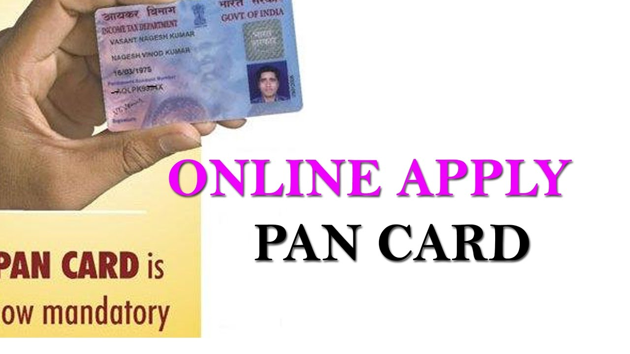 How Can Apply Online Pan Card In Hindi Youtube