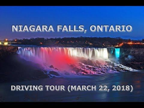 Niagara Falls, Ontario: Driving Tour (March 22, 2018)