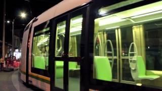Primeras Pruebas Nocturnas del Tranvía de Ayacucho Medellín