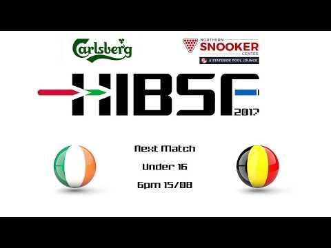 HIBSF Live Stream 2017 - U16 Aaron Hill (Republic of Ireland) v Mathijs Verherstraeten (Belgiu
