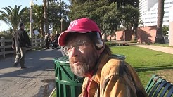 Charlie is a homeless veteran waiting on the VA to approve his benefits.