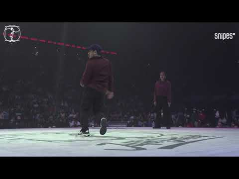 House dance quarter final - Juste Debout 2019 - Hiro & Kazane vs Hana & Kenta