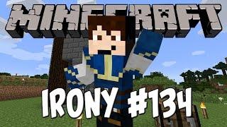 Minecraft Irony #134 (Свят 5) - Ферма за кокошки + обяснение