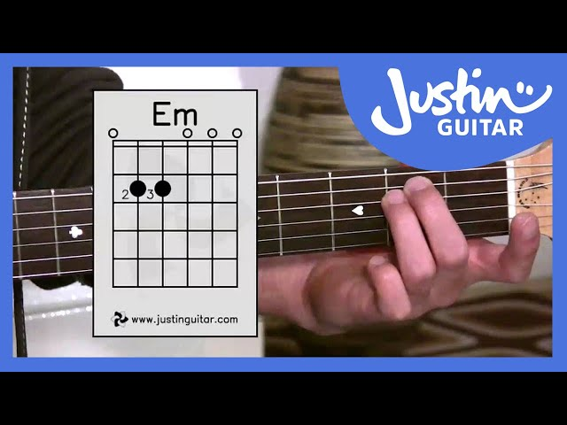 The Dmin Chord Justinguitar