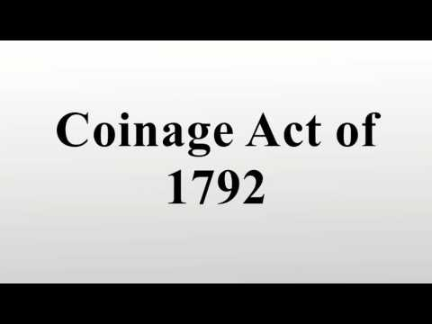 Coinage Act of 1792