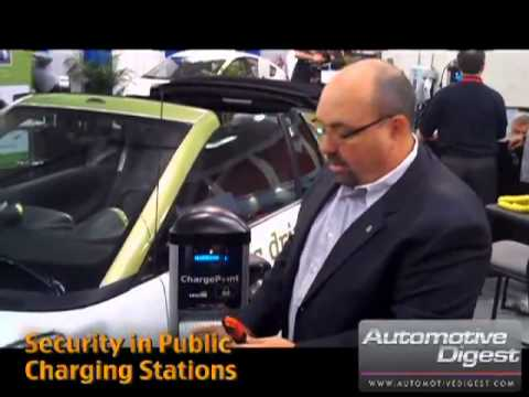 "Michael DiNucci of Coulomb Technologies ""Security in Public Charging Stations"" (Clip 1)"