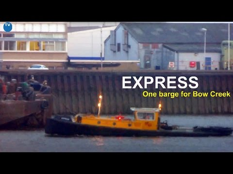 Express - One barge for Bow Creek