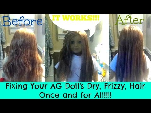 How To Fix Your American Girl's Dry, Frizzy Hair Once And For All!