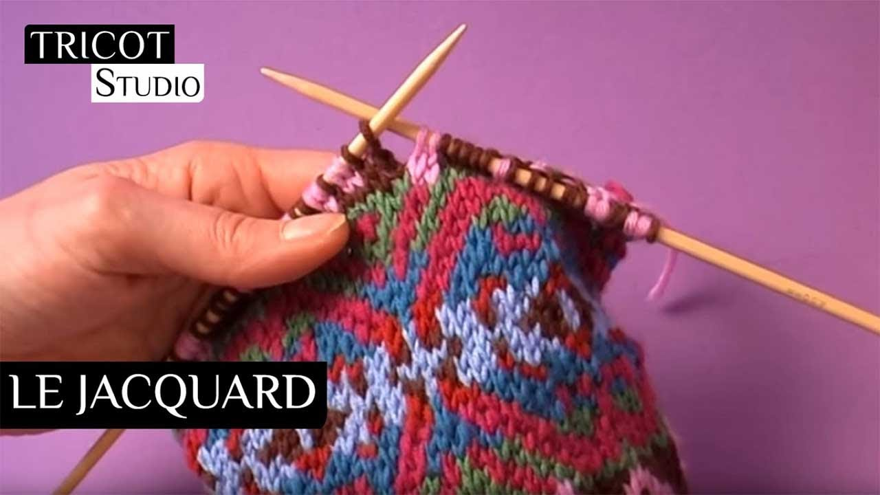 Comment tricoter en jacquard
