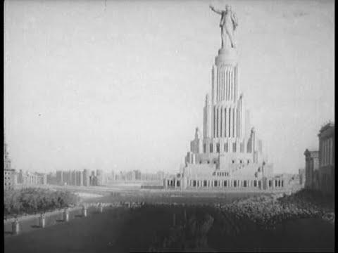 """Фильм А. Медведкина """"Новая #Москва"""" (1938)"""