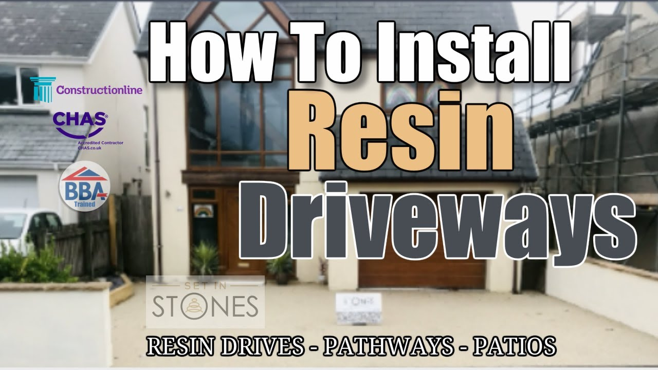 Set in Stones Swansea | How to Install a Resin Driveway