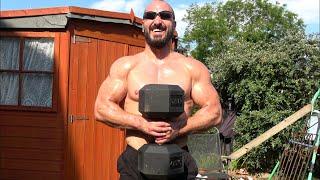 Bodybuilders Back Yard Pain Routine