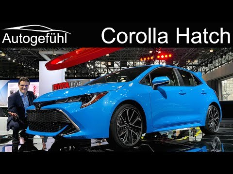 all new Toyota Corolla hatch REVIEW 2019 Toyota Auris NYIAS 2018 Autogefhl