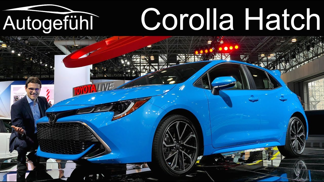 All New Toyota Corolla Hatch Review 2019 Toyota Auris Nyias 2018 Autogefuehl