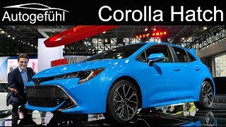 All-New Toyota Corolla Hatch Review 2019 Toyota Auris - Nyias 2018 - Autogefühl