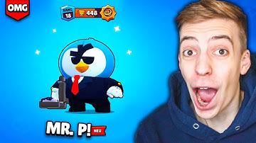 ICH SPIELE MR. P VOR ALLEN ANDEREN!! 😈😨 NEUER BRAWLER UPDATE GAMEPLAY! ★ Brawl Stars deutsch