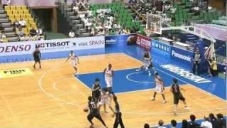 第24回FIBA アジア女子バスケ選手権-日本第1戦vsレバノン