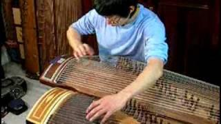 cannon variation 48 a string gayageum play 캐논 변주곡 48현 가야금 연주