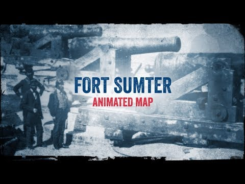 Fort Sumter: Animated Battle Map