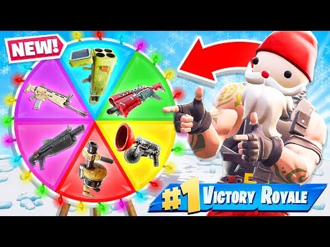 Custom WHEEL of WEAPONS *NEW* Creative Game Mode in Fortnite