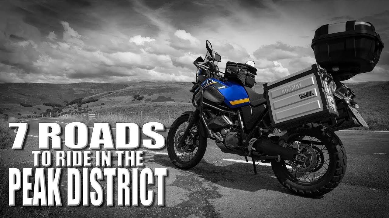 Adventure Bike Rider Magazine's 7 Roads To Ride in the Peak District - UK Yamaha XT660Z Tenere