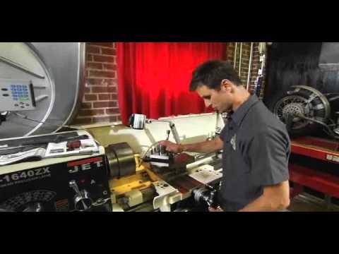 Bryan Fuller Demonstrates Jet Metal Lathe