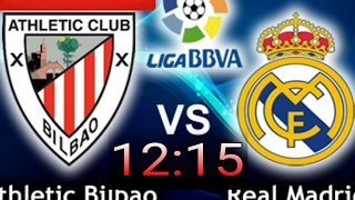 Atlético Bilbao x Real Madrid Ao vivo