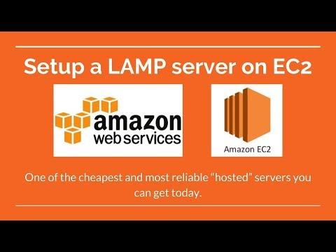 Amazon Web Services - EC2 Server Setup - Free Server for 1 Year
