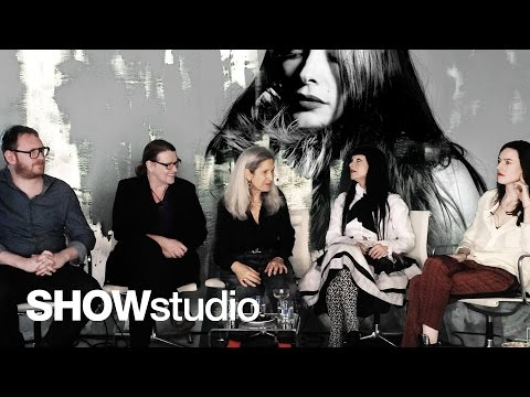 Roksanda Ilincic - Womenswear Autumn / Winter 2014 Panel Discussion