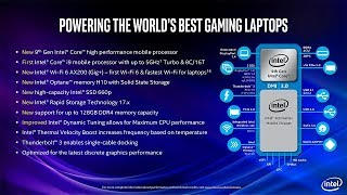 Intel 9th Generation H Series Laptop CPUs Are Out