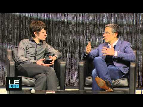 David Marcus, President, PayPal & Martin Bryant, Editor in chief, LeWeb'13
