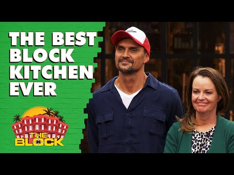 Andy And Deb's Kitchen Revealed | The Block 2019