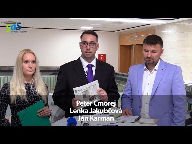 Tb SaS: Petržalka stratila kontrolu nad svojimi novinami