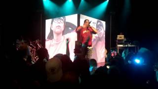 Uncomfortable Tour Andy Mineo Say I Won't, Lay Up