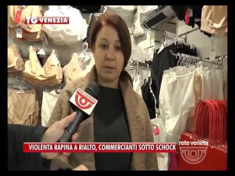 TG VENEZIA (28/10/2016) - VIOLENTA RAPINA...