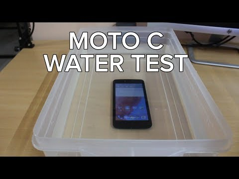 Moto C water test. Survived or failed?