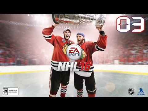NHL 16 - HC Vítkovice Steel vs HC Oceláři Třinec (+ Lelek_CZ)