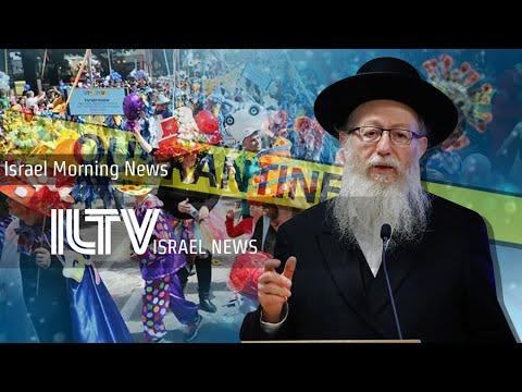 Israel Celebrates Purim Amid Coronavirus Outbreak - ILTV Israel News - Mar. 9, 2020