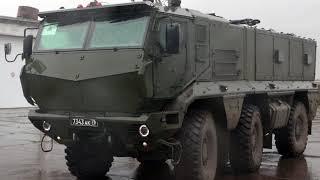 Тренировка спецназа ЦВО с применением новых бронеавтомобилей «Тайфун-К»