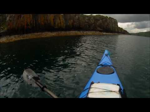 Isle of Skye Broadford to Portree, 4 island sea kayak tour